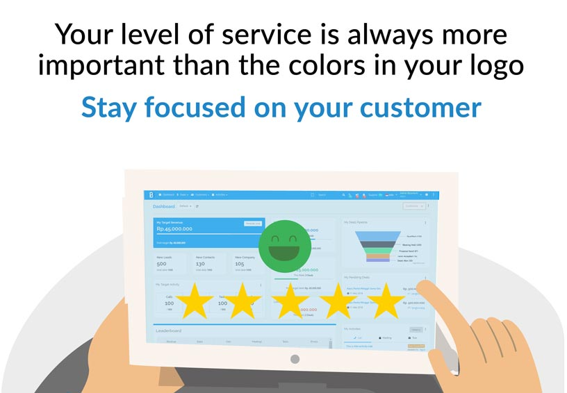 call center customer satisfy