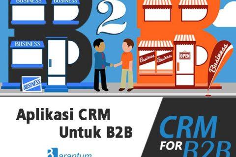 Aplikasi CRM untuk b2b