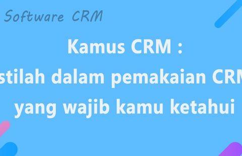istilah crm