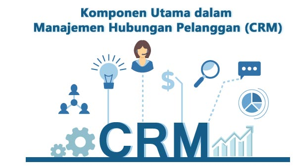 komponen manajemen hubungan pelanggan