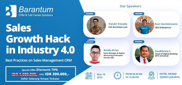Event Sales Growth Hack Jakarta