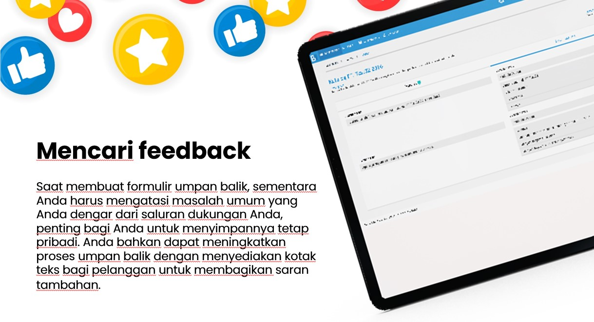 maksimalkan hubungan pelanggan dengan feed back
