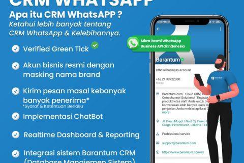 crm whatsapp adalah